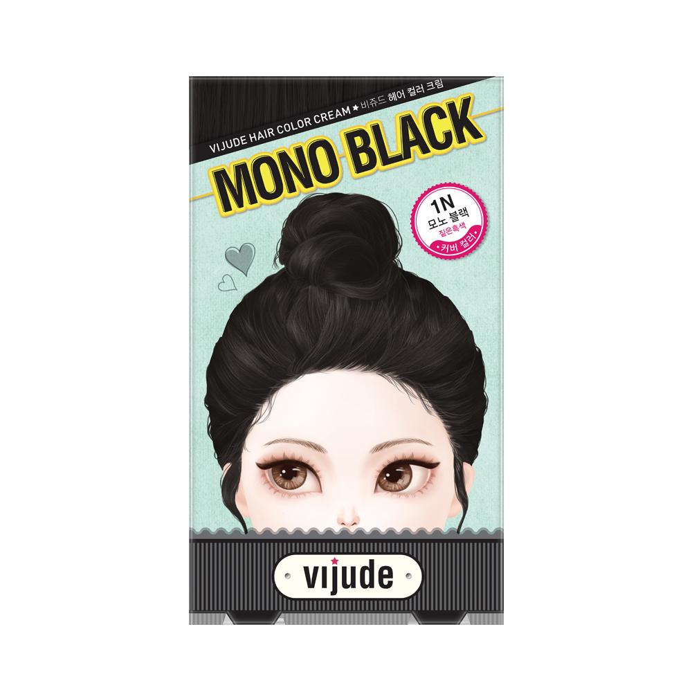 Vijude Hair Color Cream (1N Mono Black)