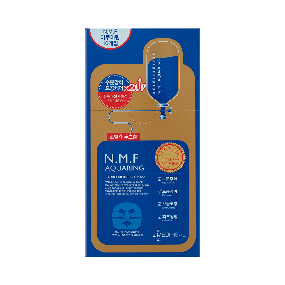 N.M.F Aquaring Hydro Nude Gel Mask